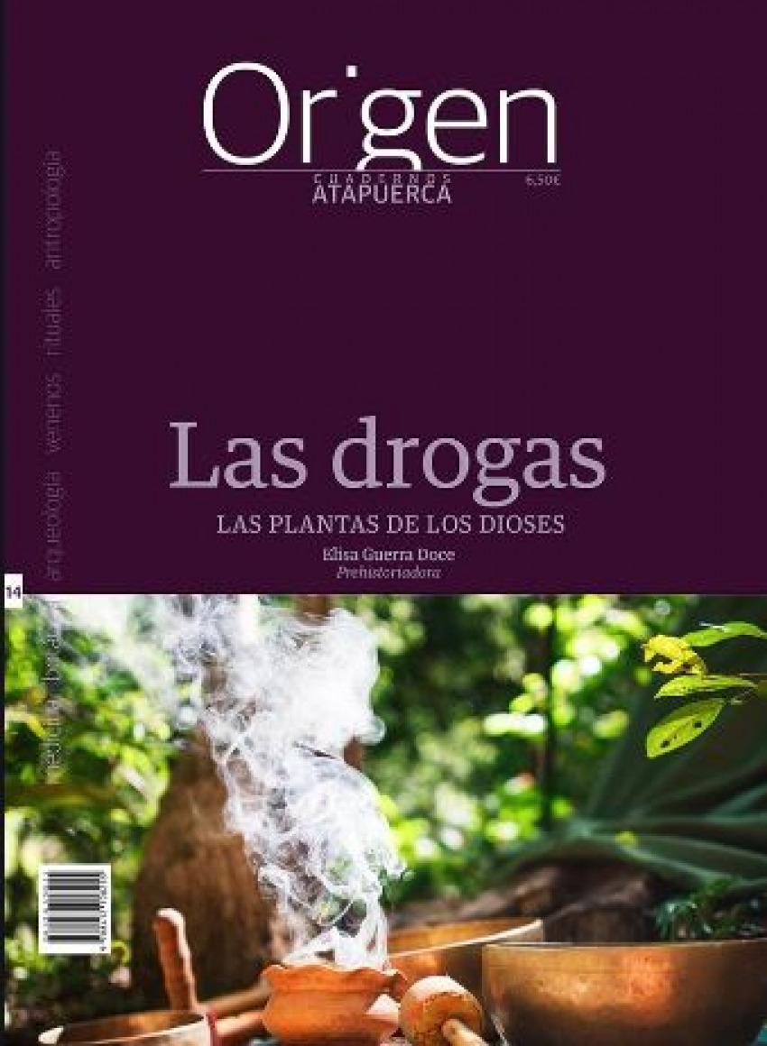 CUADERNOS ATAPUERCA ORIGEN 14 LAS DROGAS 9788412108255