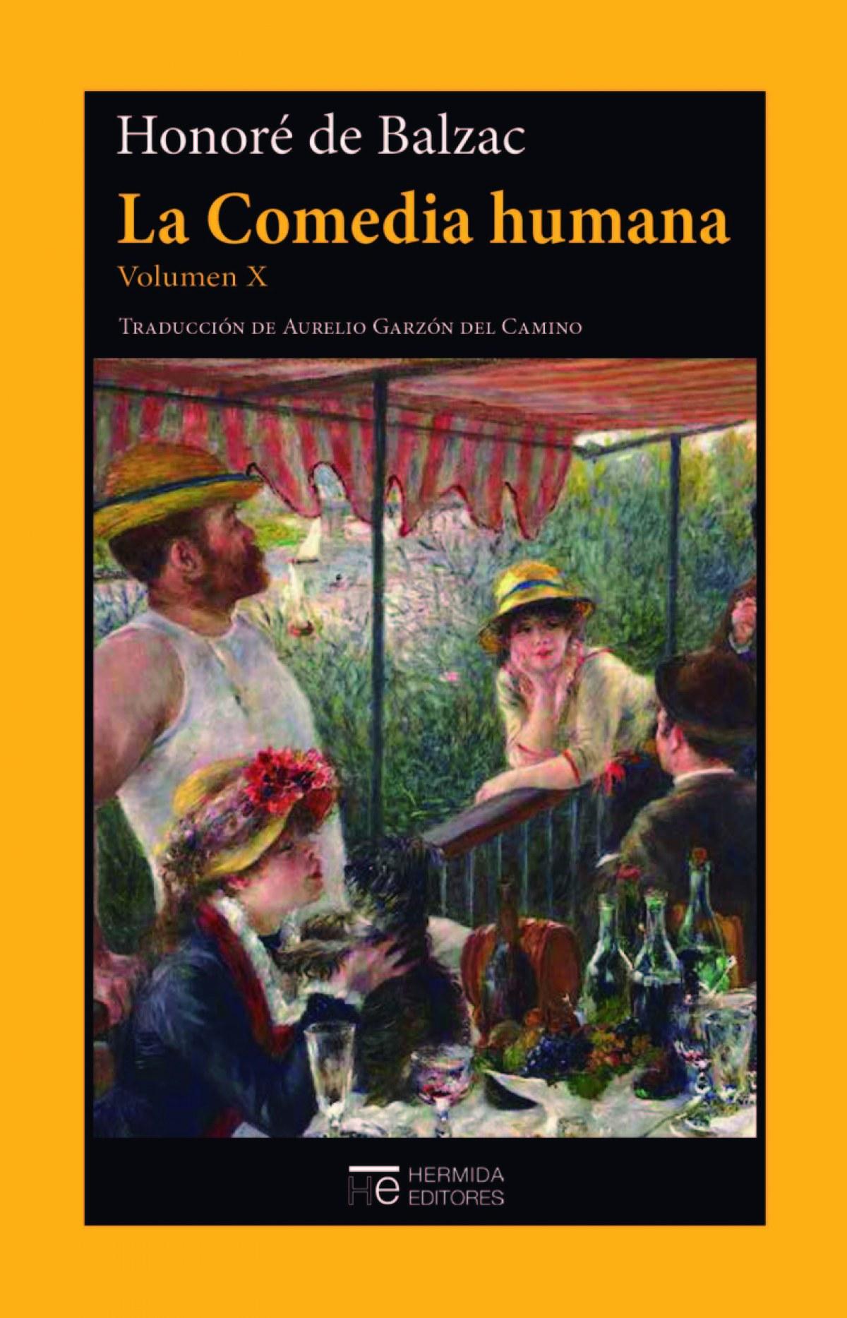 La Comedia humana. Volumen X 9788412123555