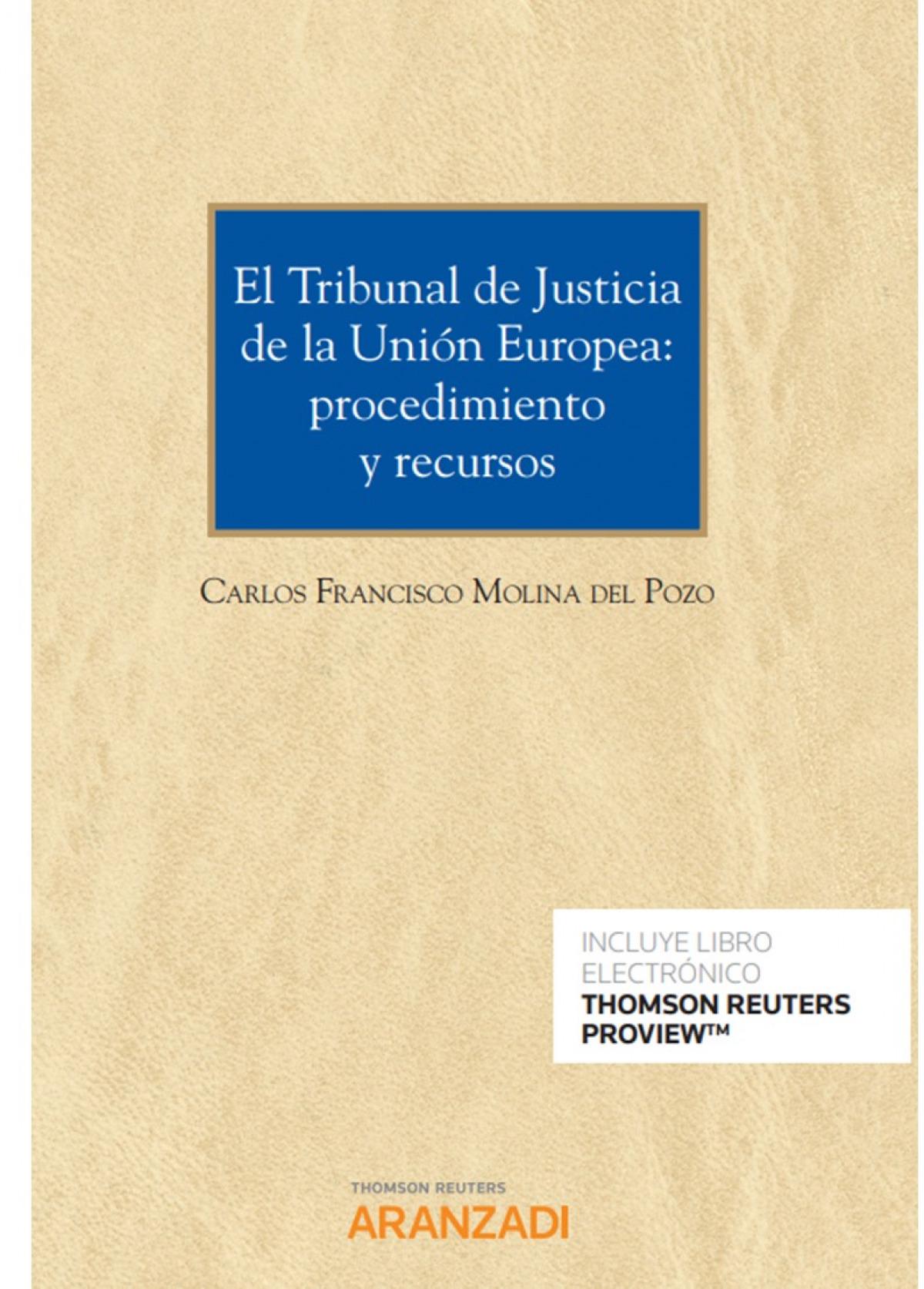 Tribunal de justicia de la unión europea, El: 9788413081564