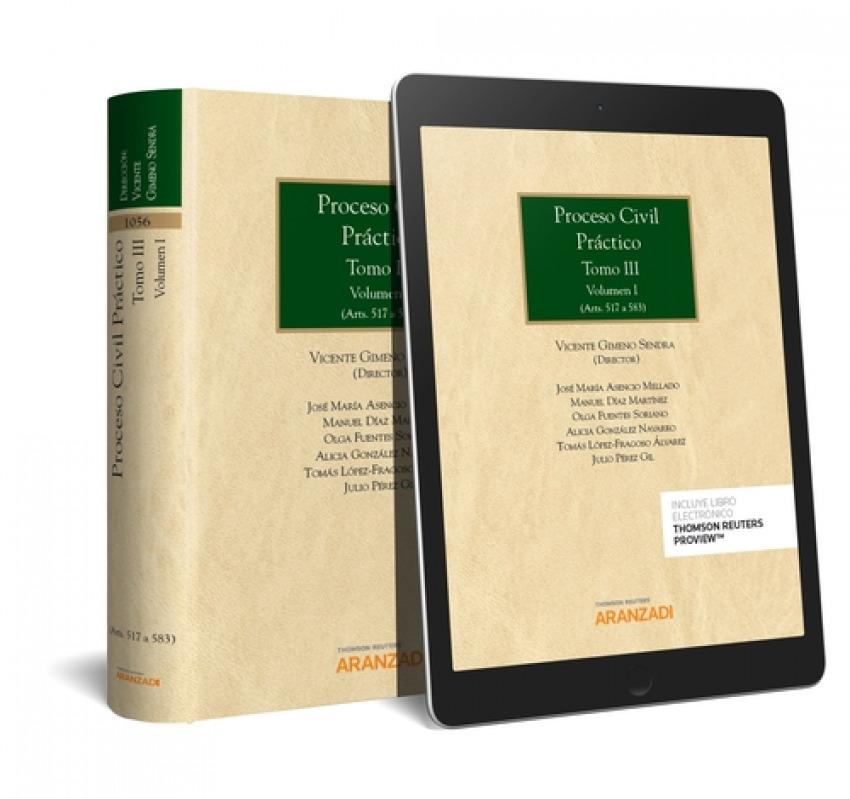 PROCESO CIVIL PRÁCTICO, TOMO III. VOLUMEN I y II 9788413082967