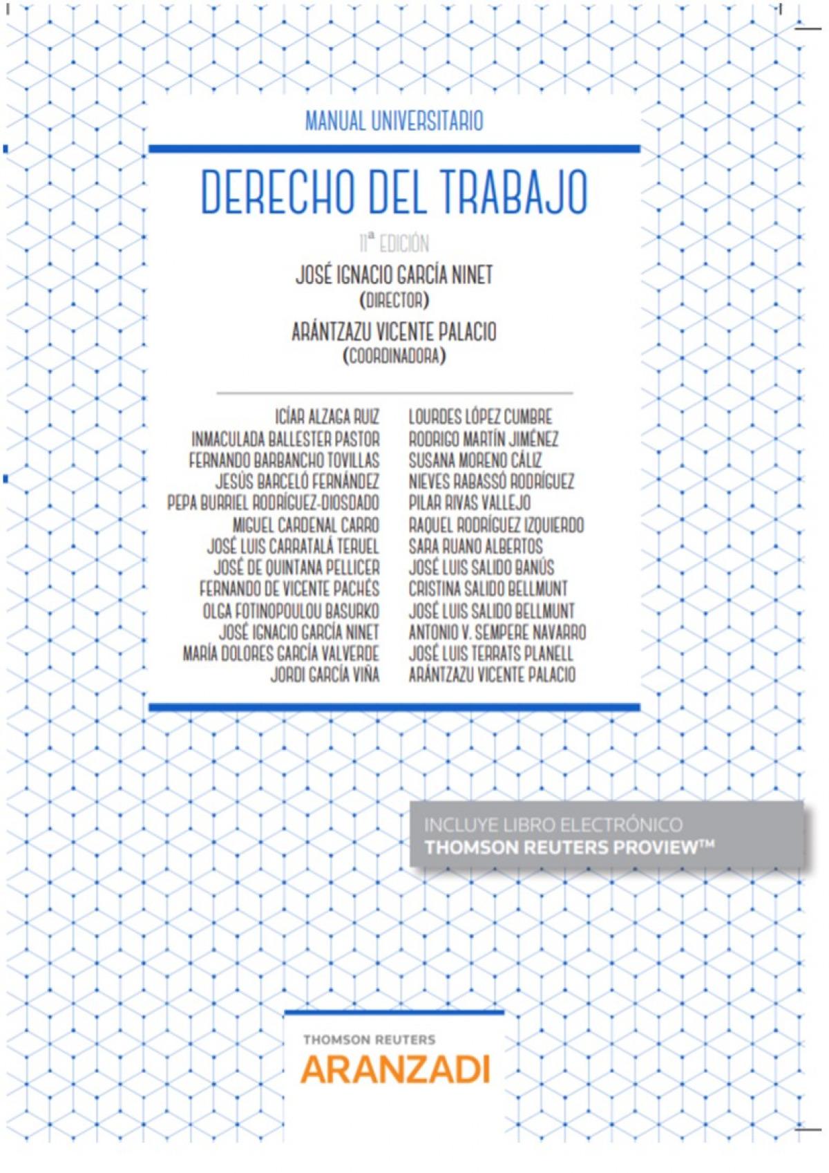 Derecho del Trabajo (Papel + e-book) 9788413084855