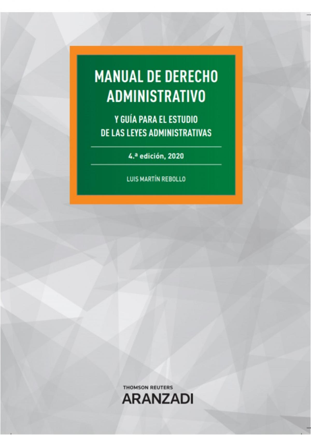 Manual de las leyes administrativas 9788413088648
