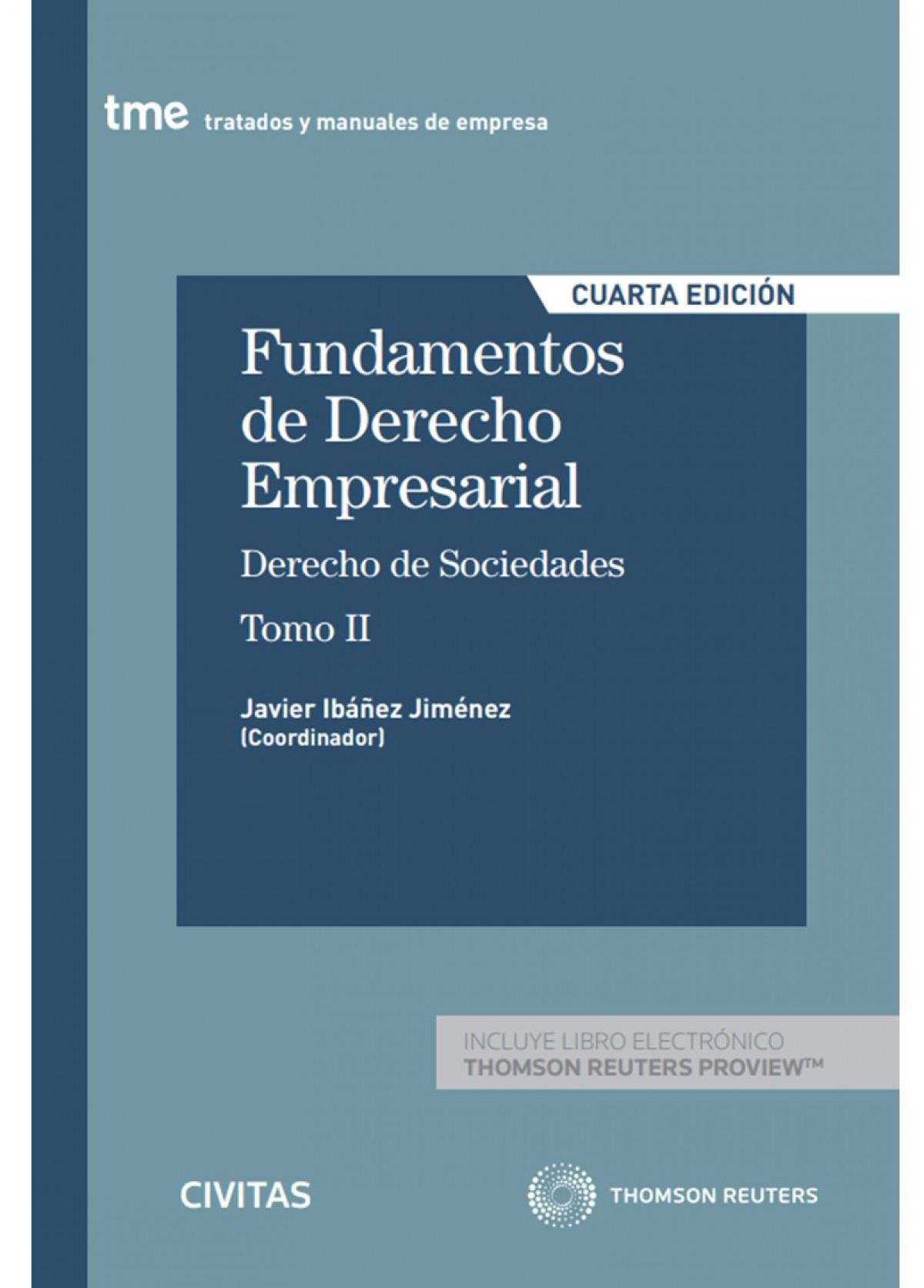 Fundamentos de Derecho Empresarial (II) (Papel + e-book) 9788413089805