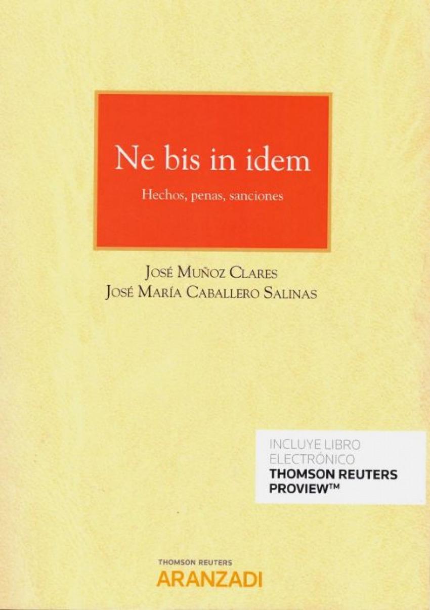 NE BIS IN IDEM. (DÚO) 9788413092386