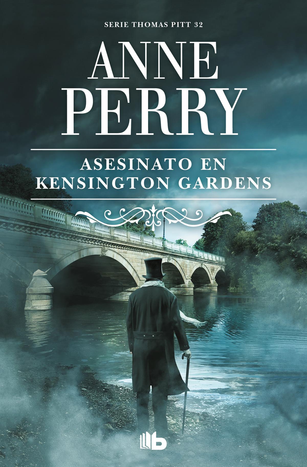 Asesinato en Kensington Gardens (Inspector Thomas Pitt 32) 9788413141473
