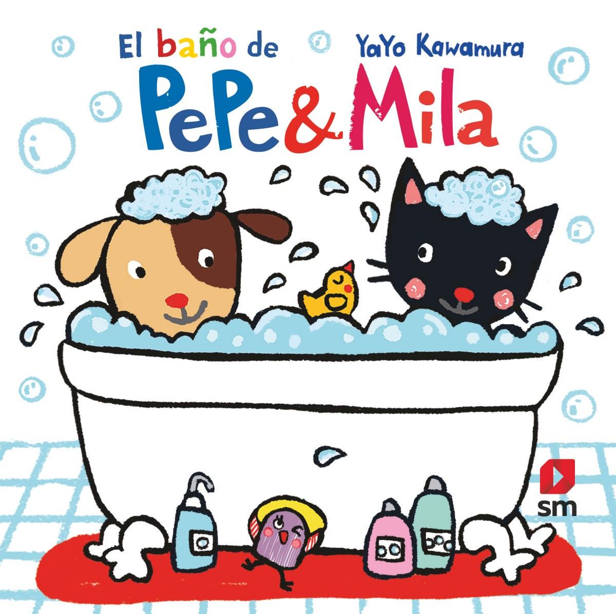 Libro de baño de Pepe Mila 9788413180496