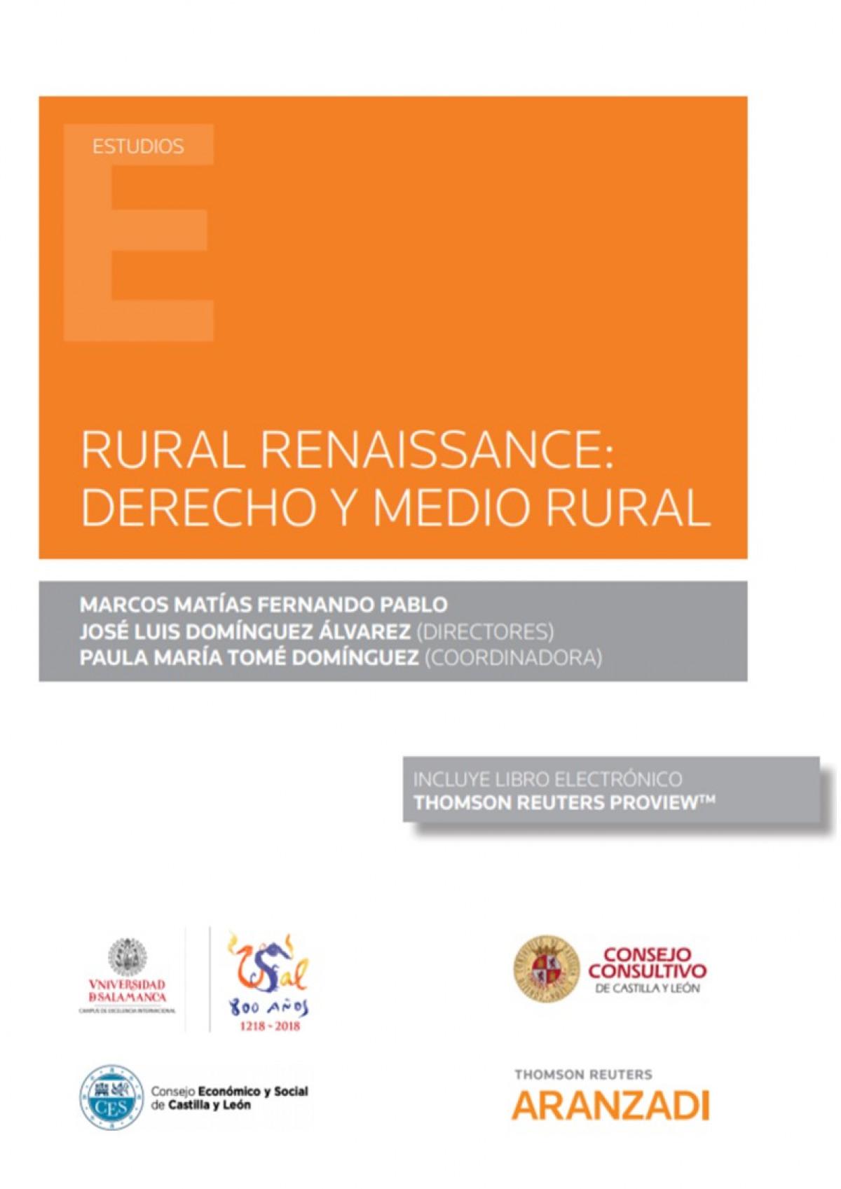 Rural renaissance: 9788413450209