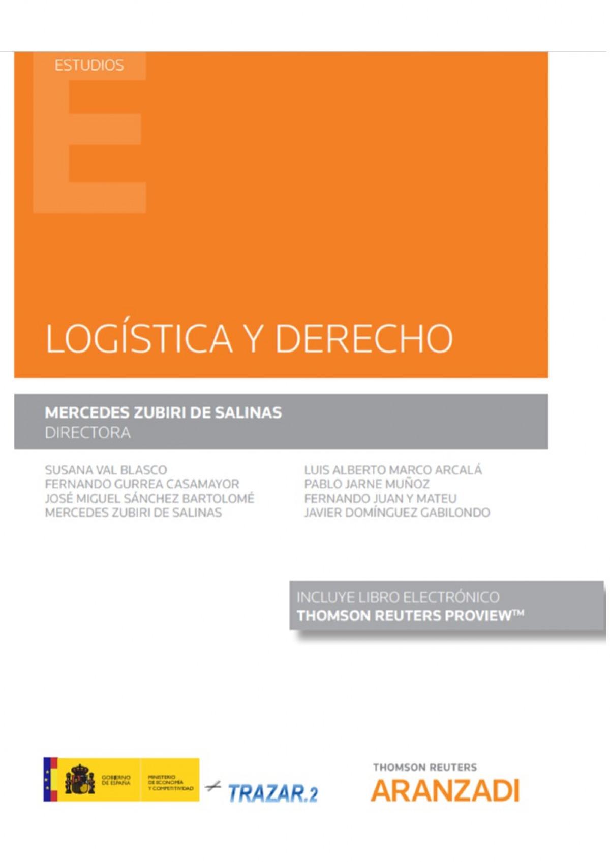 Logstica y derecho 9788413451084