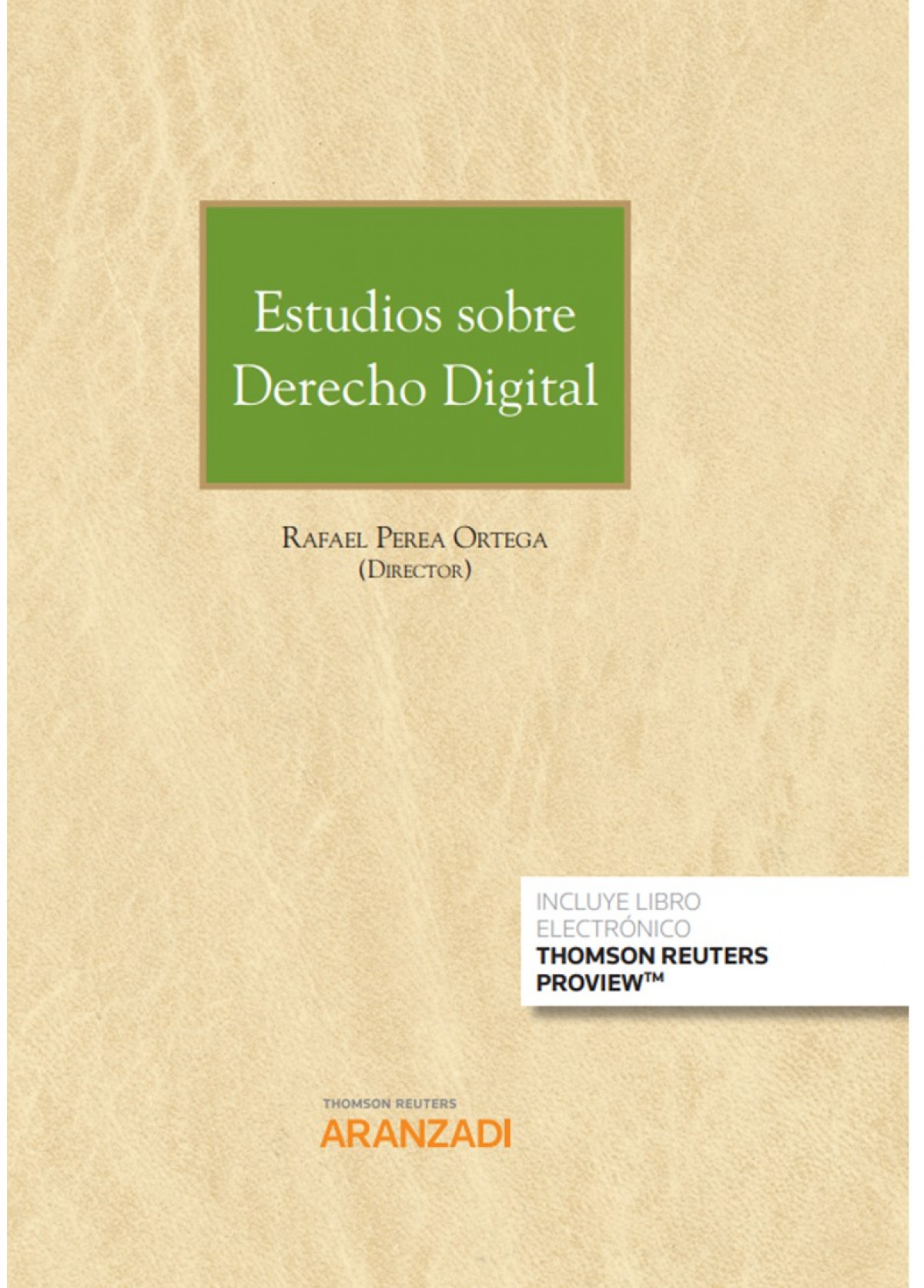 ESTUDIOS SOBRE DERECHO DIGITAL DUO 9788413451732