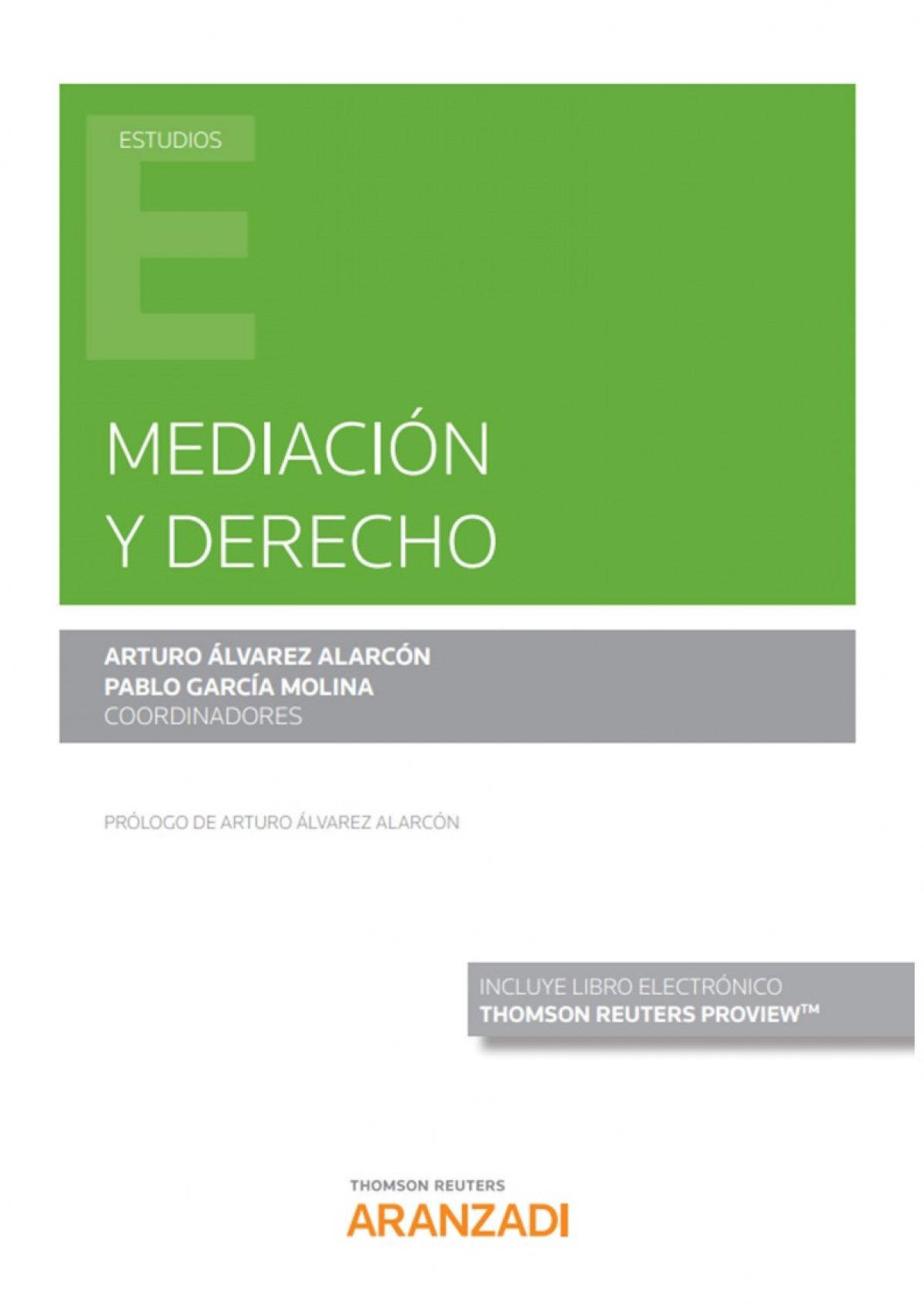 Mediación y Derecho (Papel + e-book) 9788413453019