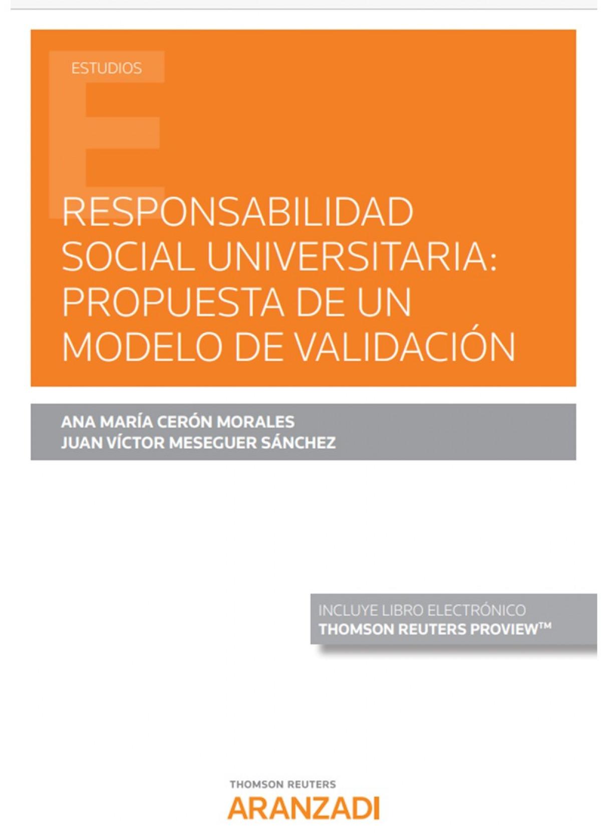 Responsabilidad social universitaria: 9788413453576