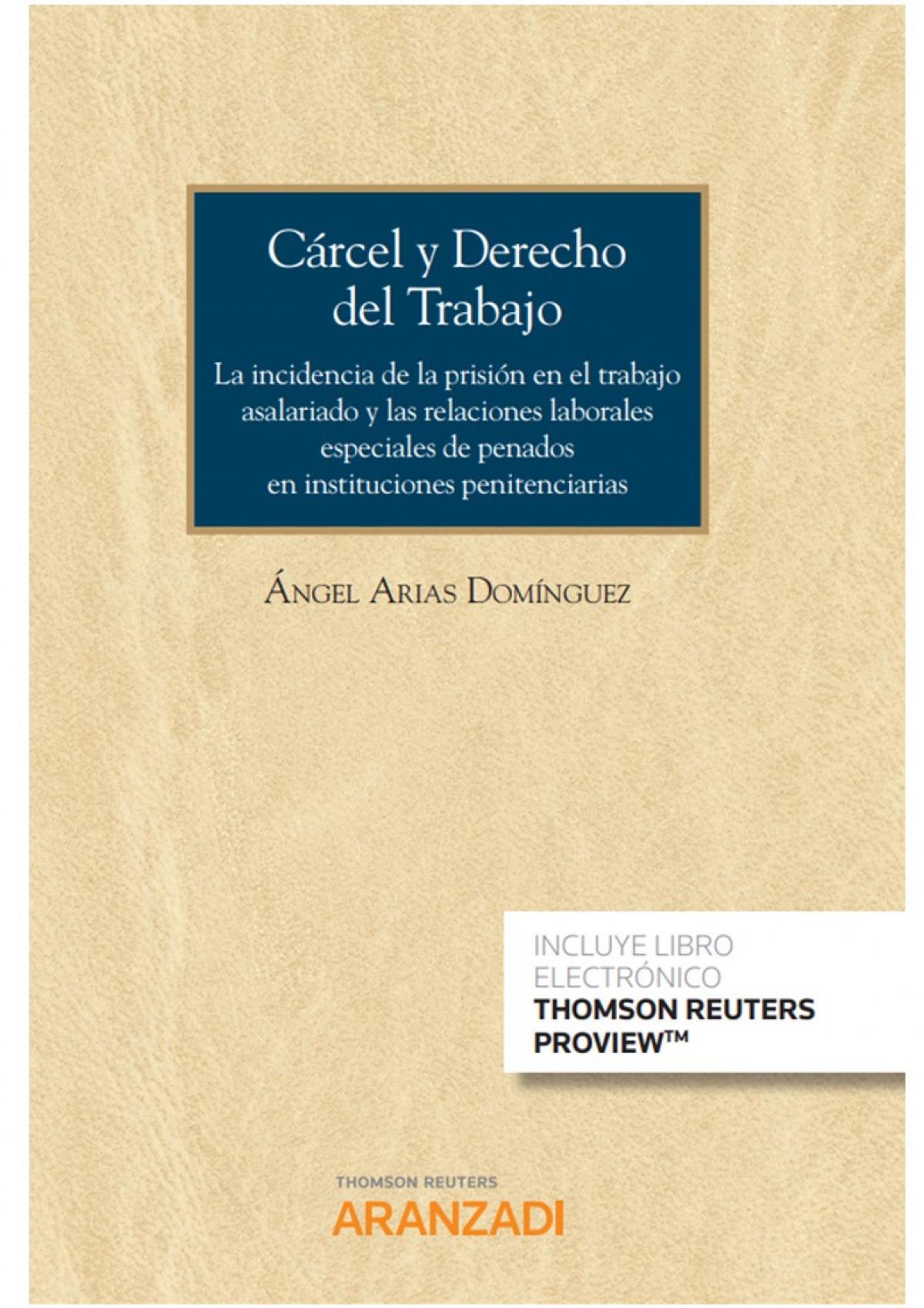 Cárcel y Derecho del Trabajo (Papel + e-book) 9788413453866