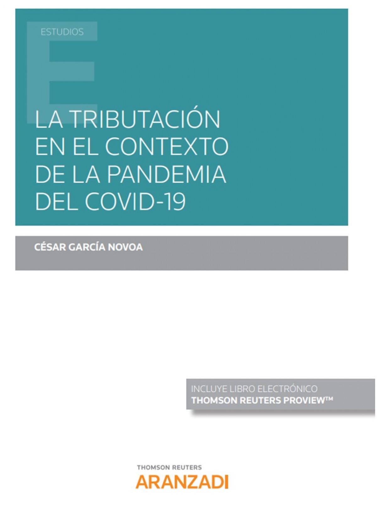TRIBUTACION EN EL CONTEXTO PANDEMIA DEL COVID 19 DUO 9788413457734