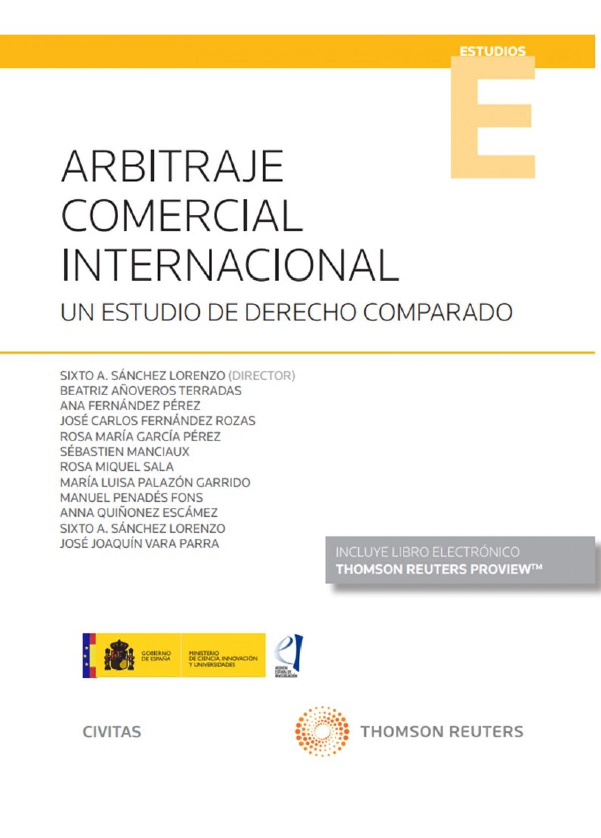 Arbitraje comercial internacional 9788413460468