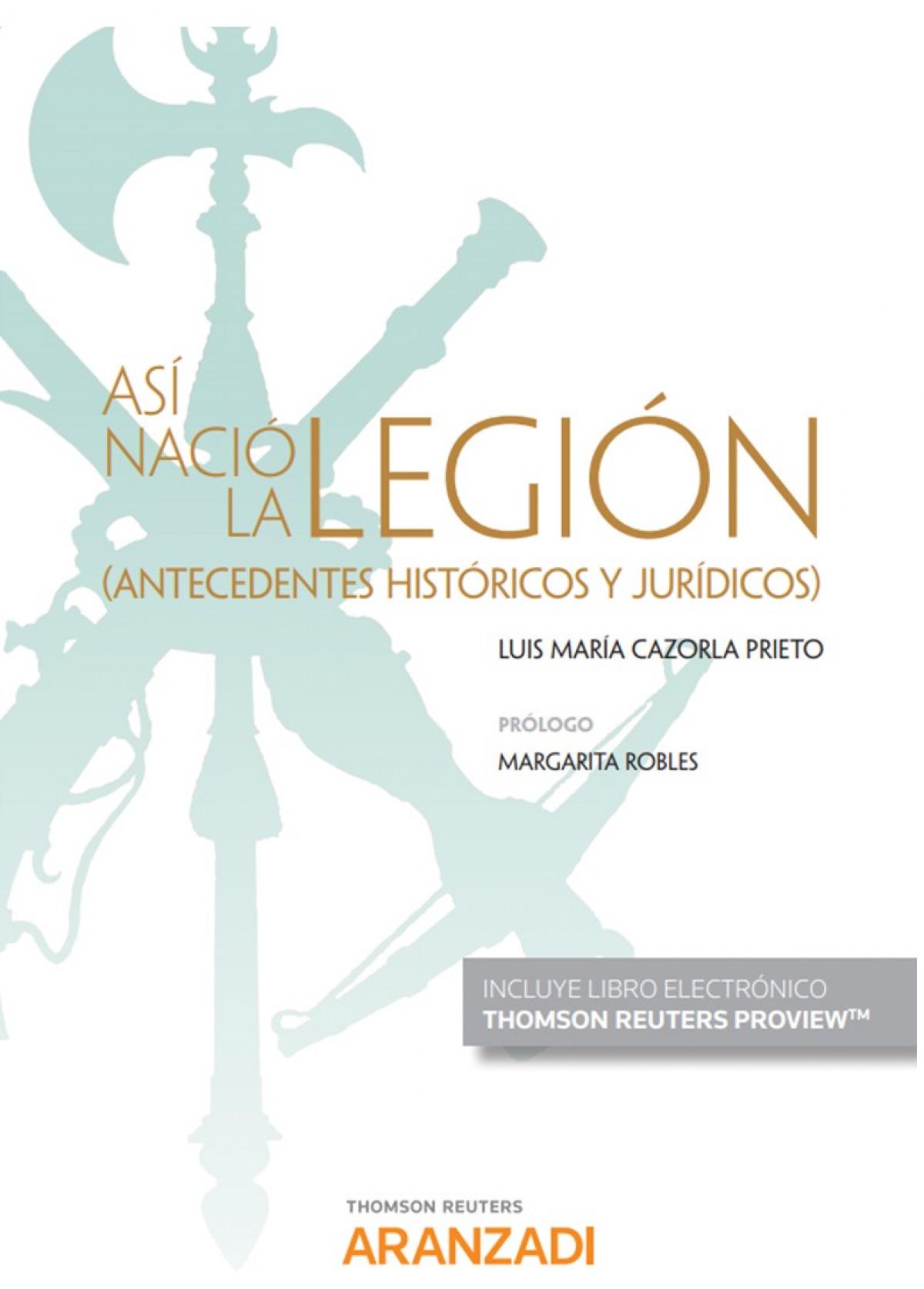As¡ nació la Legión (Papel + e-book) 9788413461144