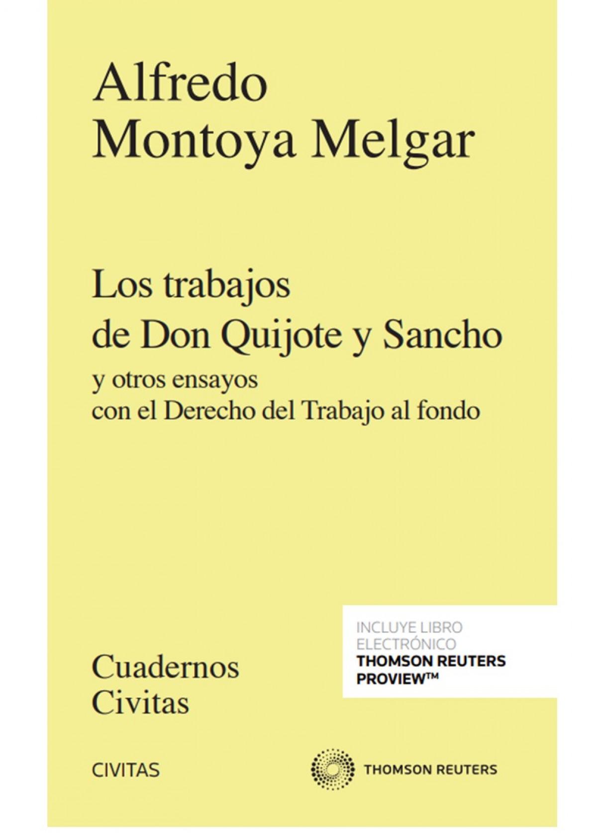 Los trabajos de Don Quijote y Sancho (Papel + e-book) 9788413461175