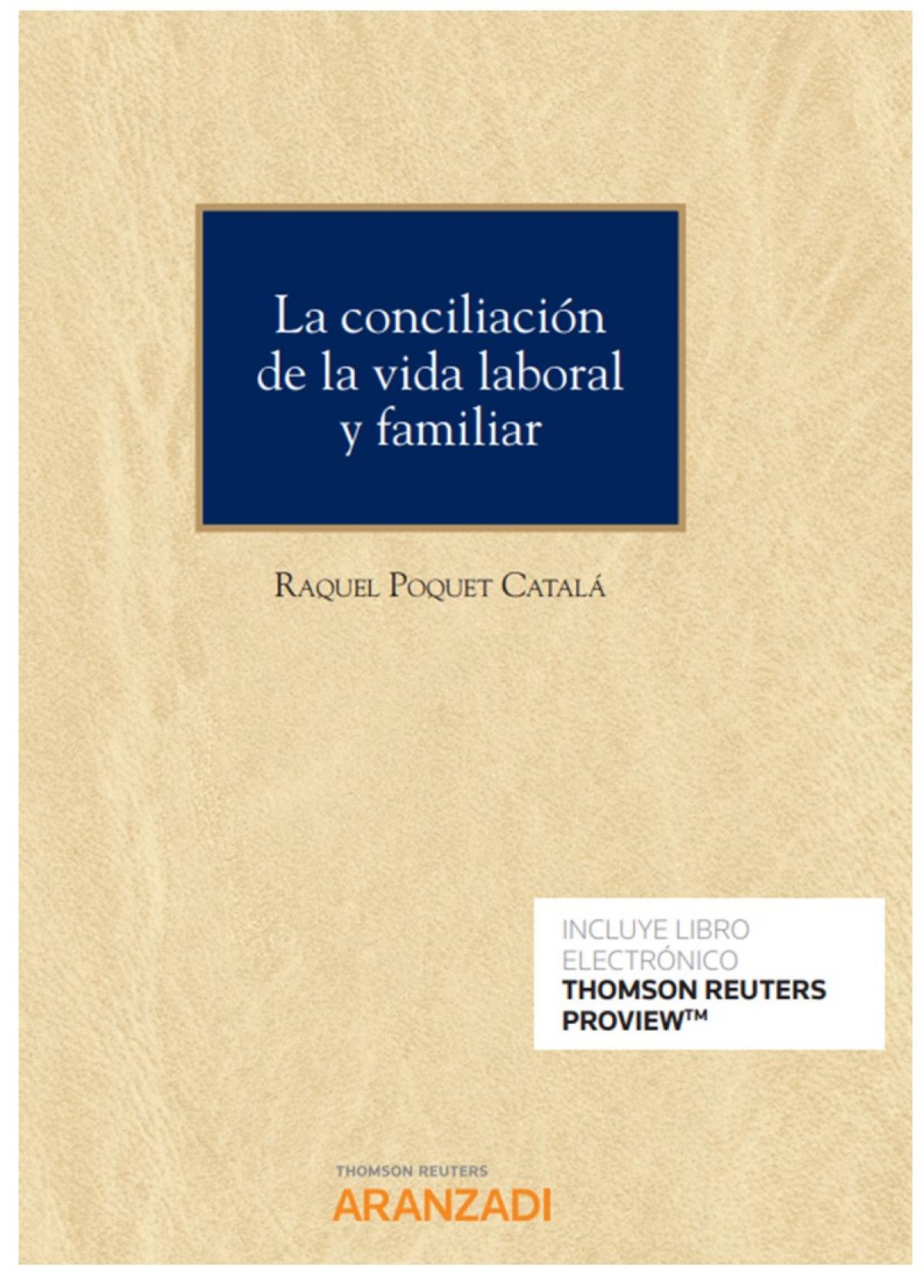 CONCILIACION DE LA VIDA LABORAL Y FAMILIAR,LA DUO 9788413468167