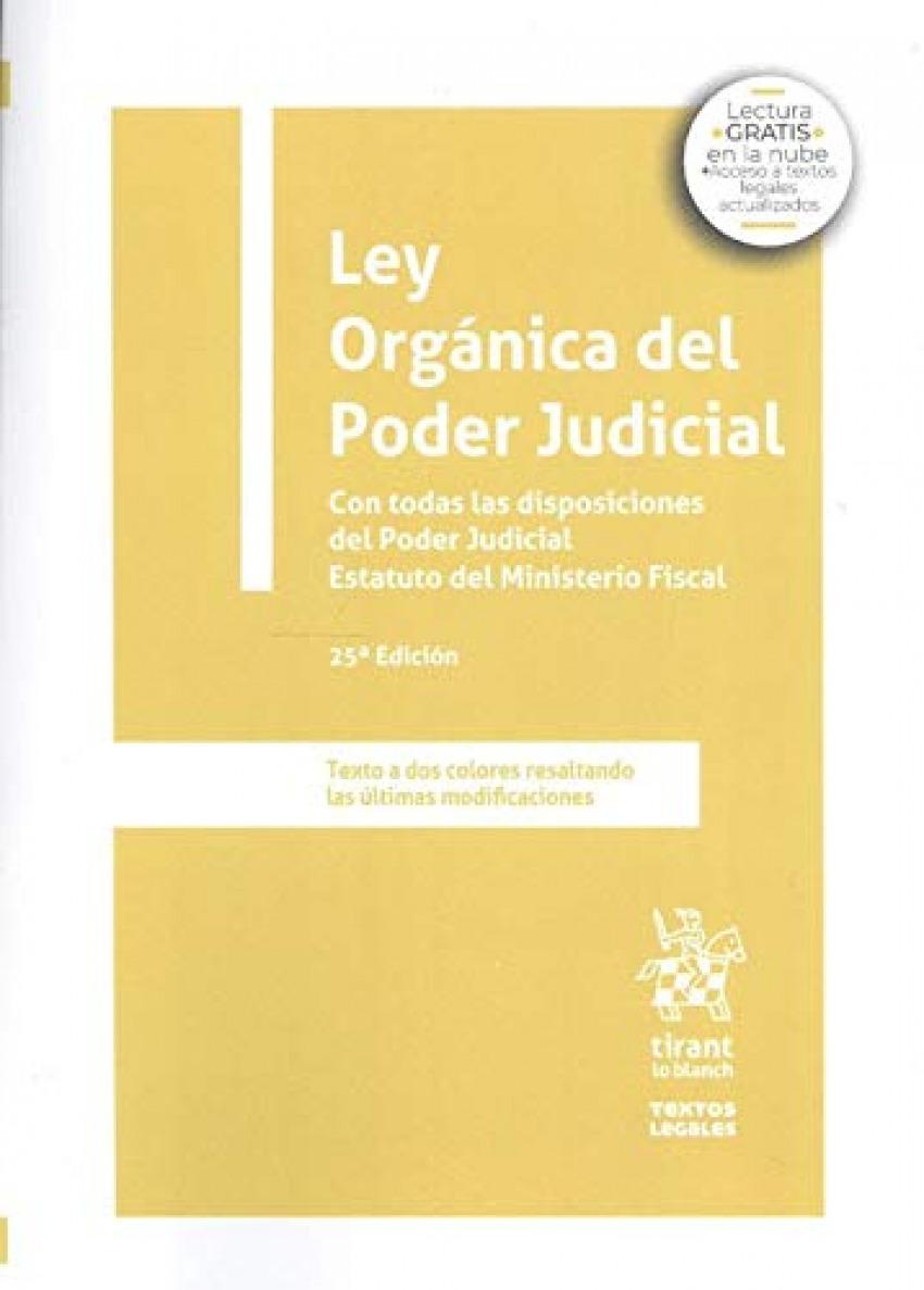 Ley Orgánica del Poder Judicial 9788413555959