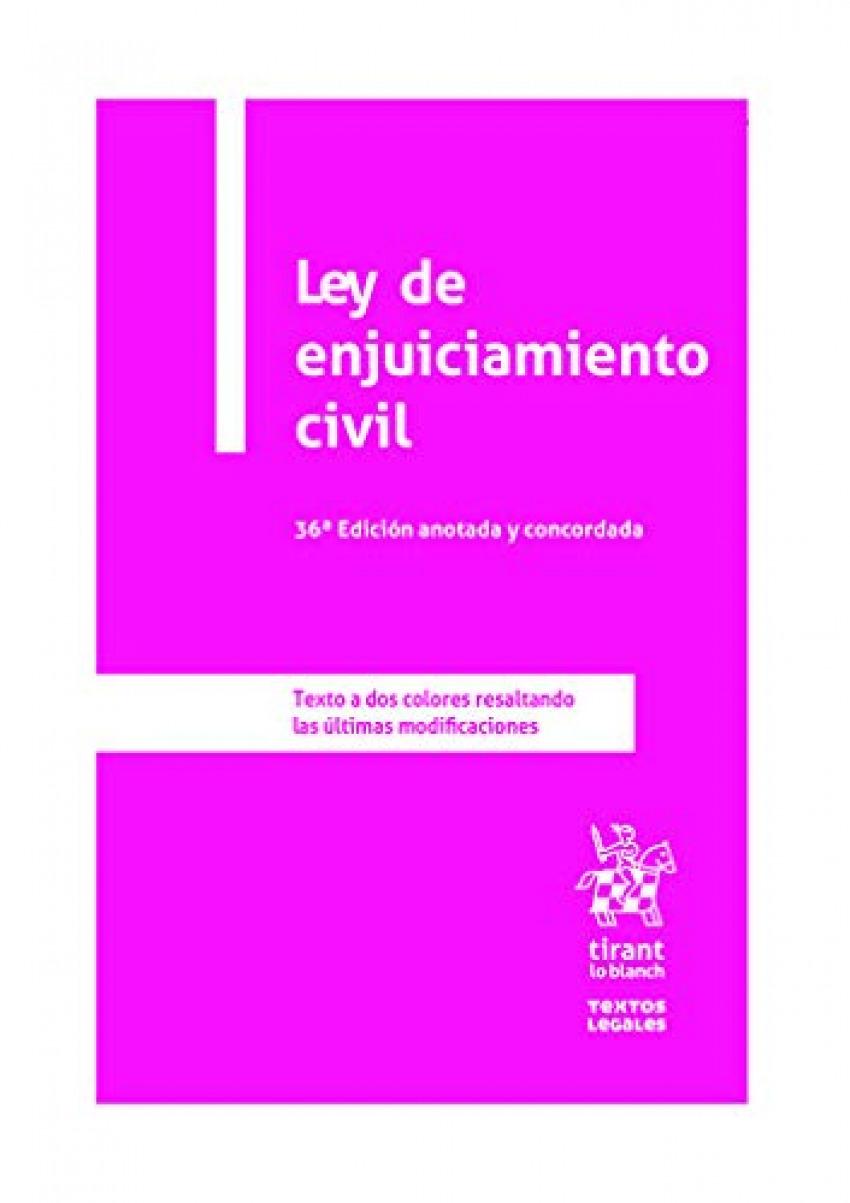 Ley de enjuiciamiento civil 9788413555973