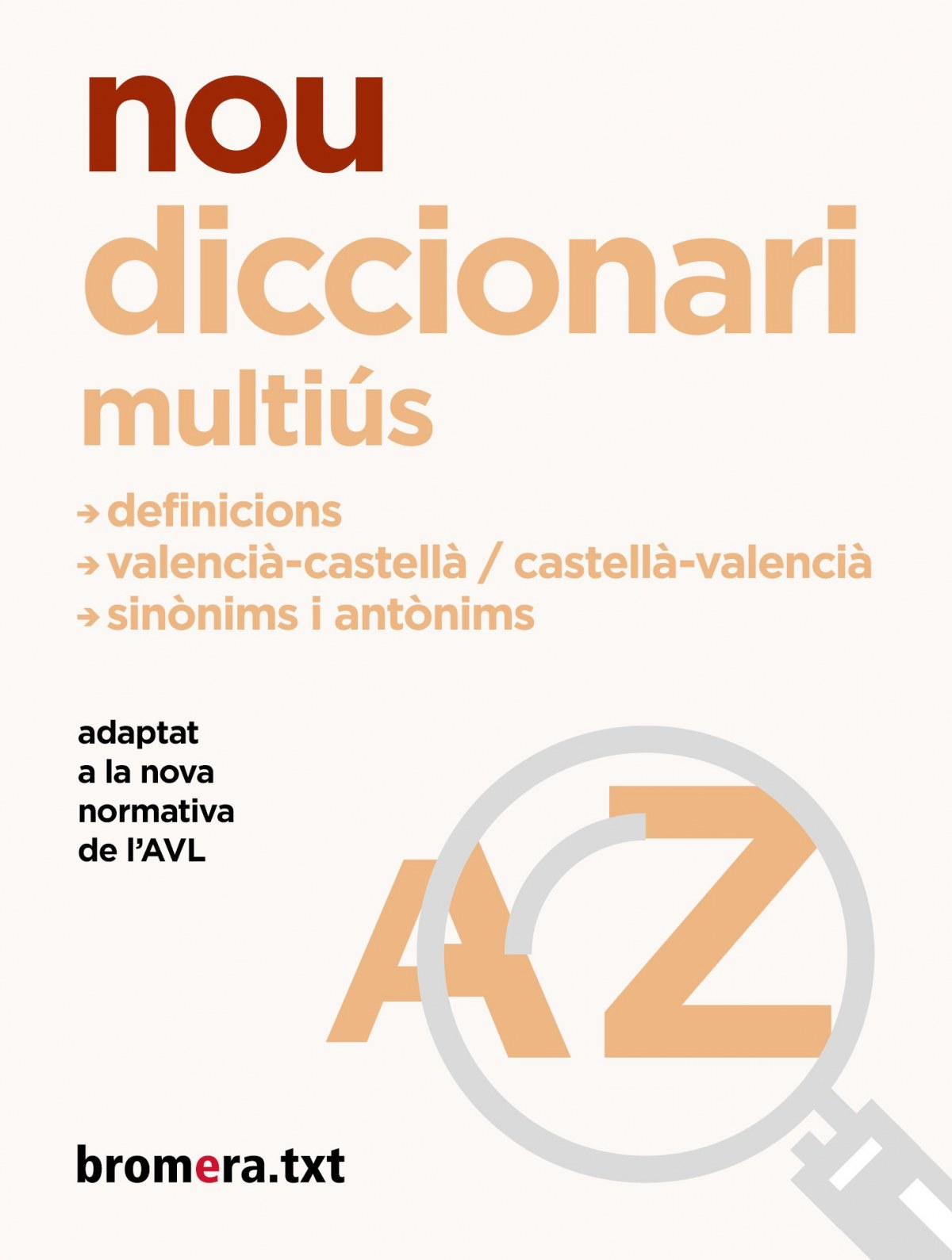 Nou diccionari Multiús 9788413580517