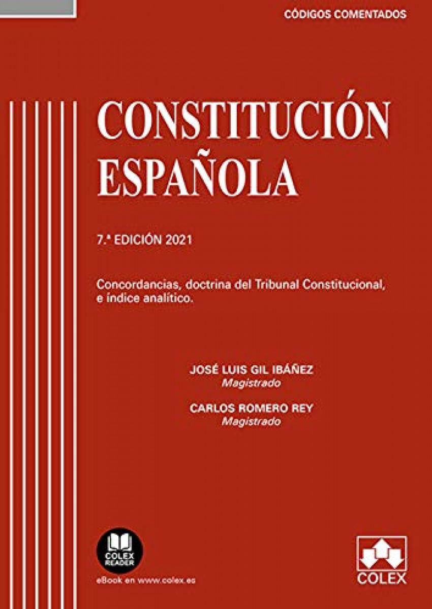 Constitución Española - Código comentado 9788413590851