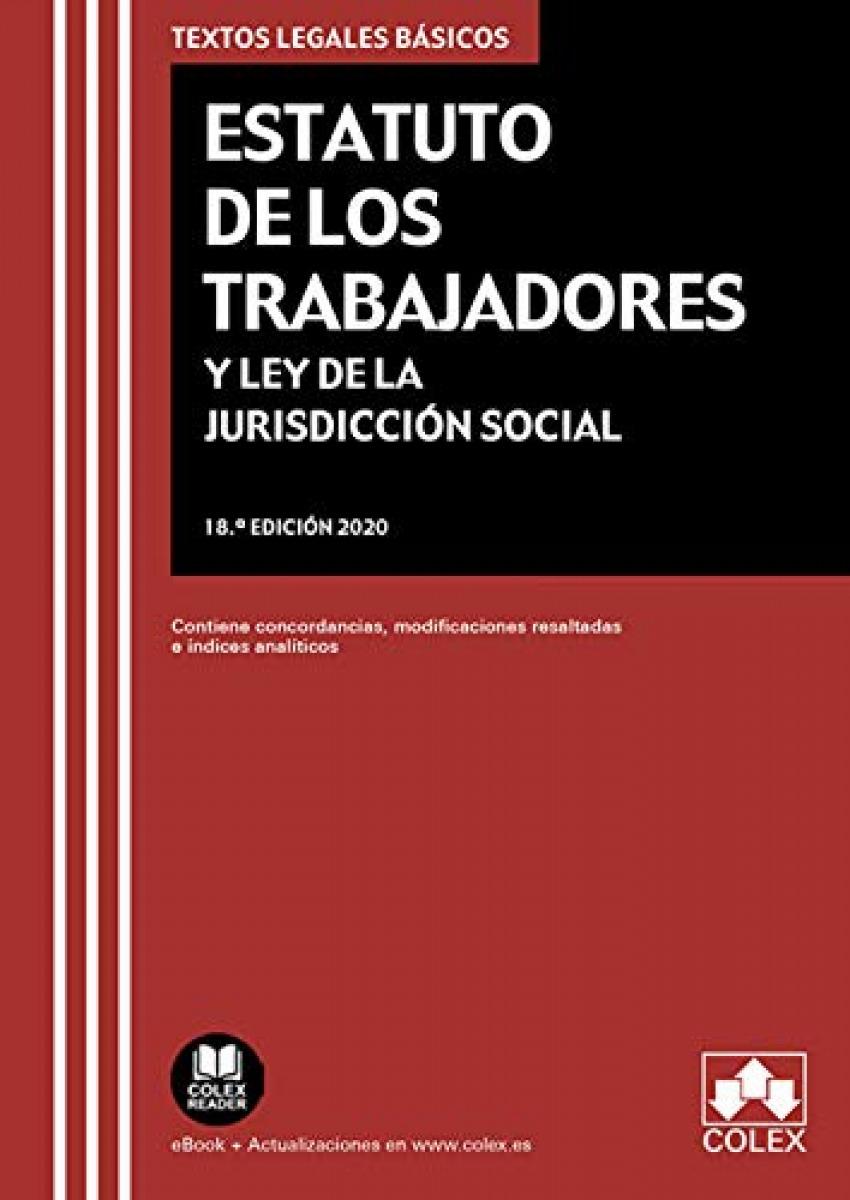 Estatuto de los Trabajadores y Ley de la Jurisdicción Social 9788413590912