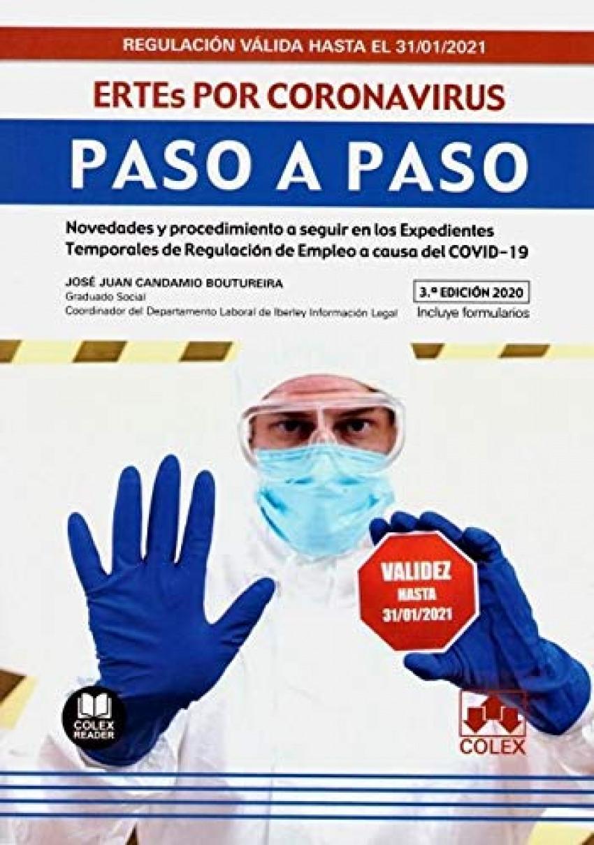 ERTEs por coronavirus. Paso a Paso 9788413591056