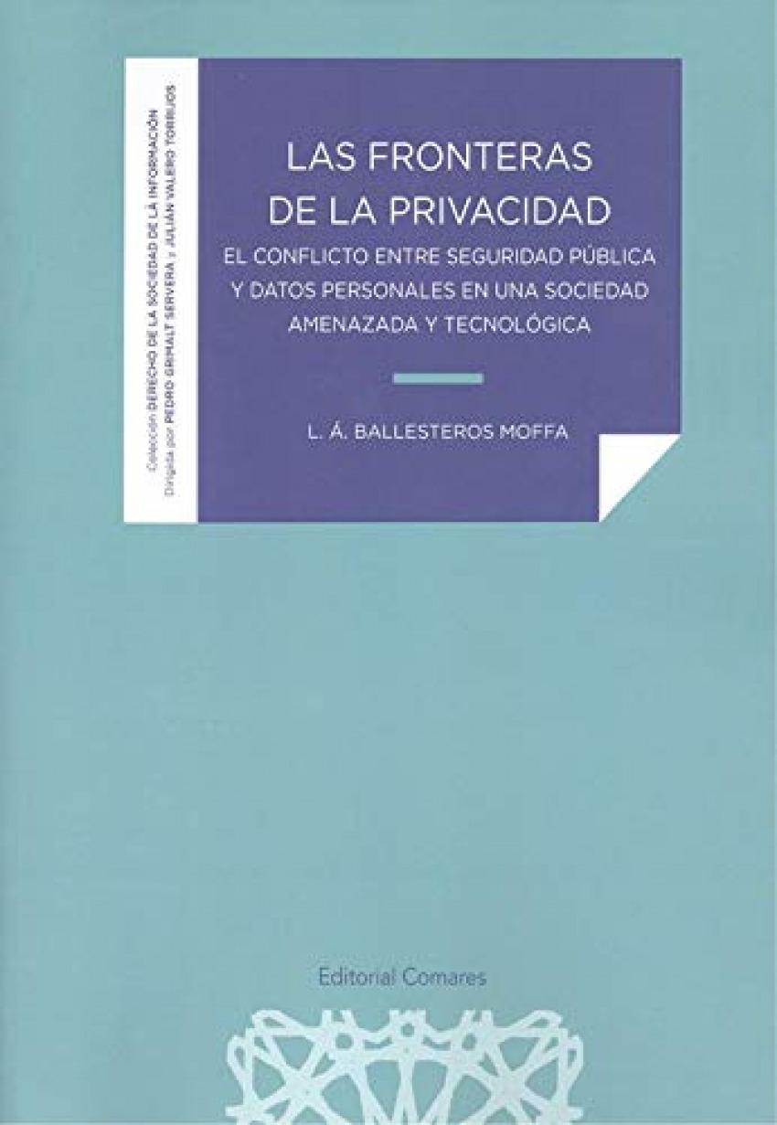 FRONTERAS DE LA PRIVACIDAD 9788413690483