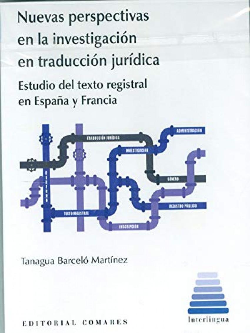 NUEVAS PERSPECTIVAS EN LA INVESTIGACION EN TRADUCCION JURID 9788413690766