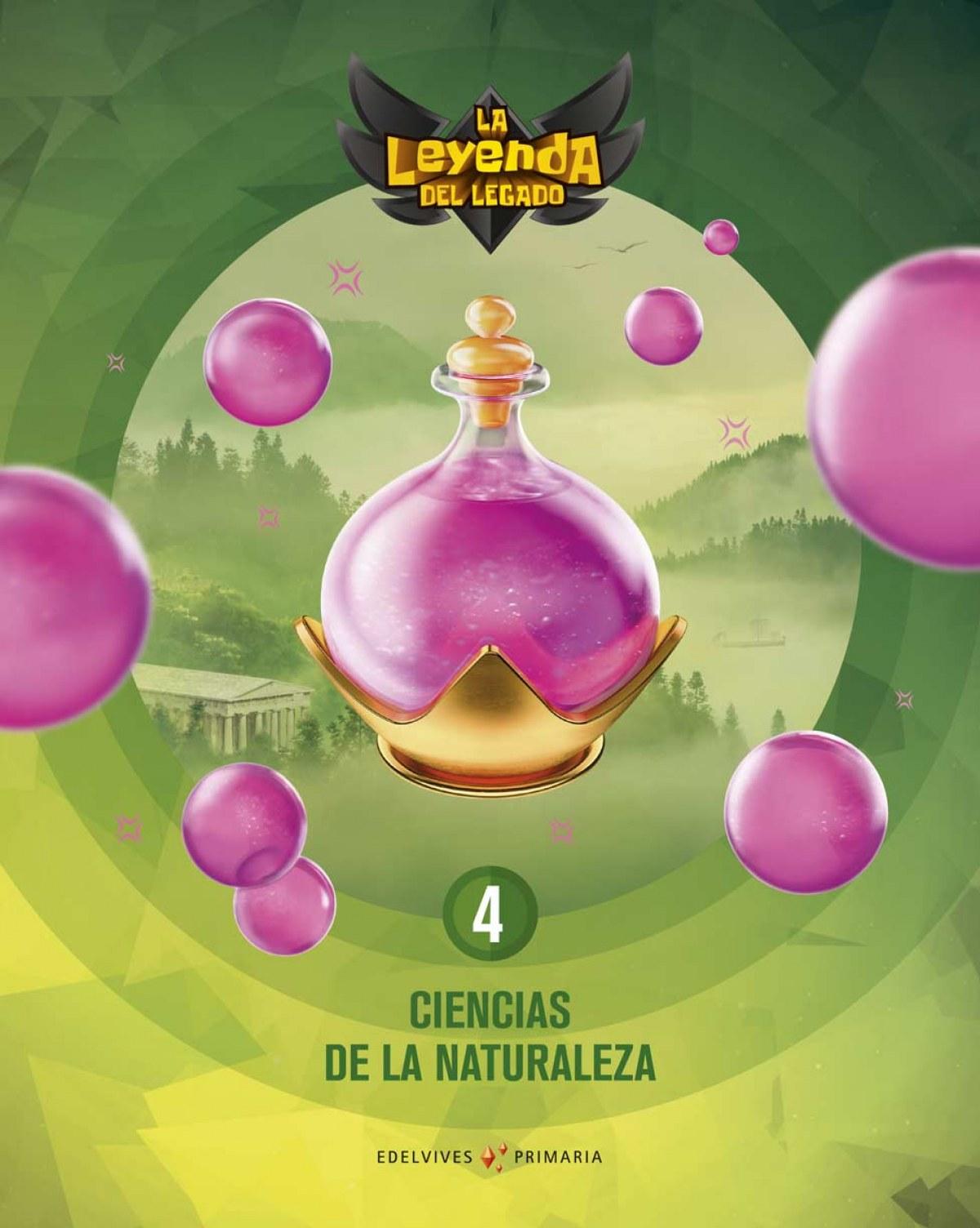CIENCIAS DE LA NATURALEZA 4o.PRIMARIA. LA LEYENDA DEL LEGADO 2019 9788414020128