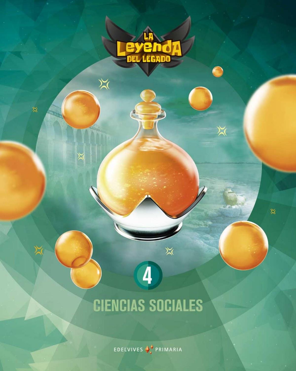 CIENCIAS SOCIALES 4o.PRIMARIA. LA LEYENDA DEL LEGADO 2019 9788414020173