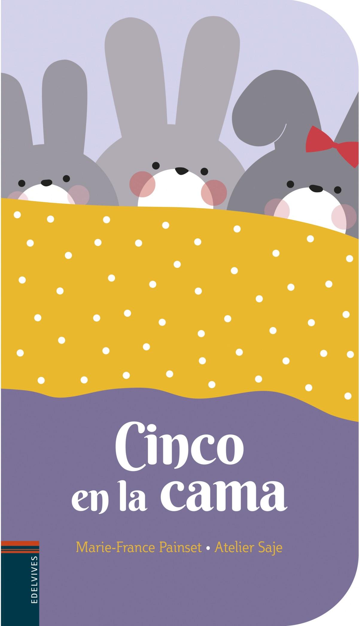 CINCO EN LA CAMA 9788414023358