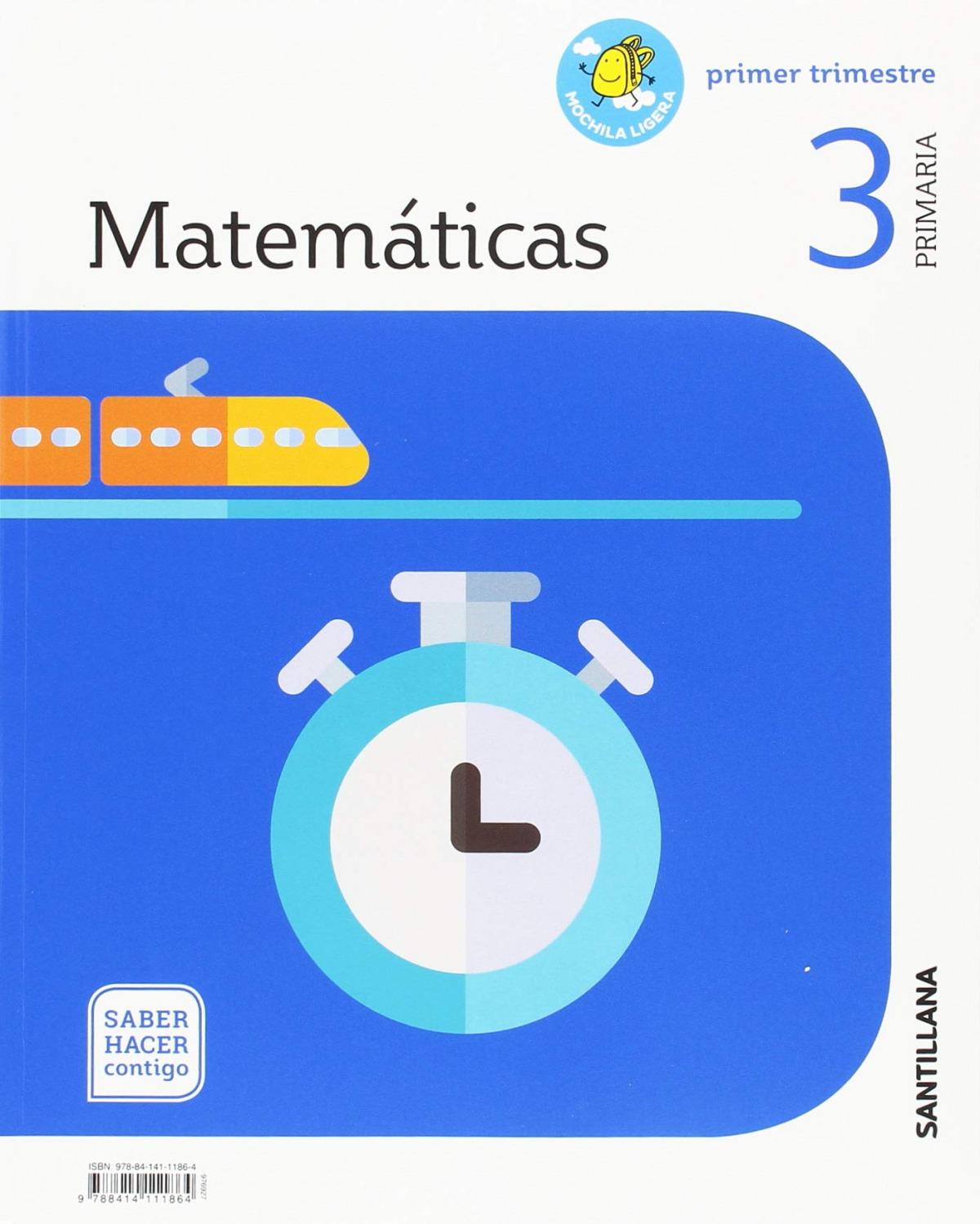 MATEMÁTICAS 3o.PRIMARIA. SABER HACER CONTIGO 9788414111864