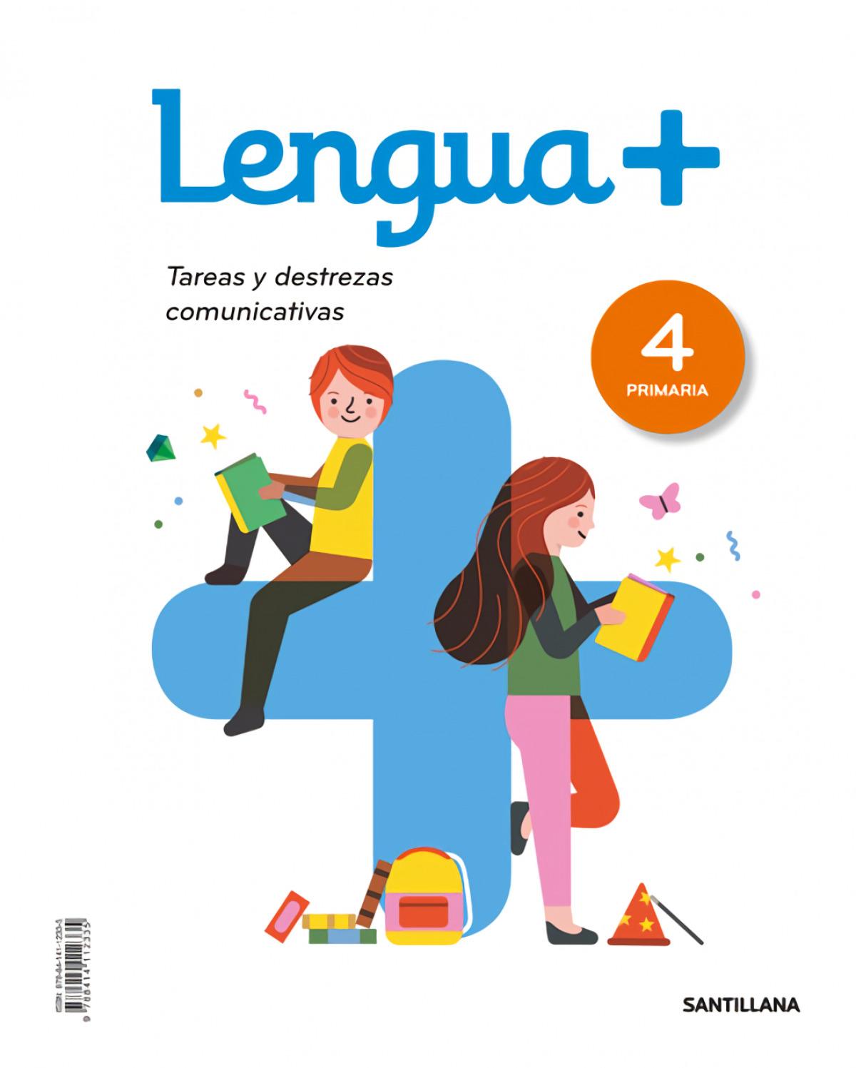 LENGUA CASTELLANA + 4o.PRIMARIA 9788414112335