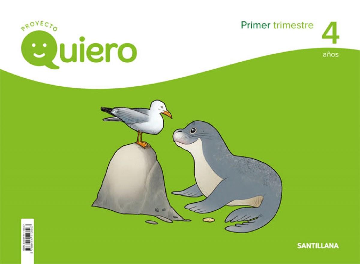 PROYECTO QUIERO 4 AñOS 1o.TRIMESTRE 9788414113547