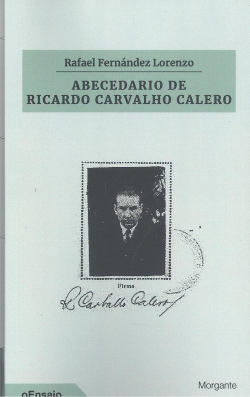 ABECEDARIO DE RICARDO CARVALHO CALERO 9788415166788