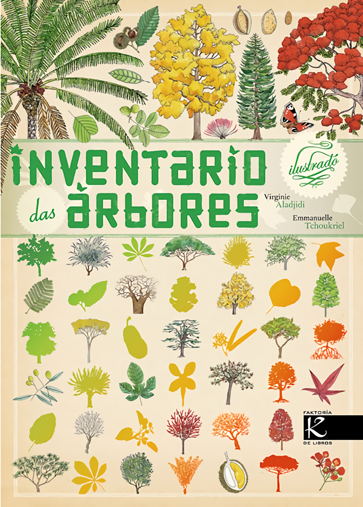Inventario das árbores 9788415250647