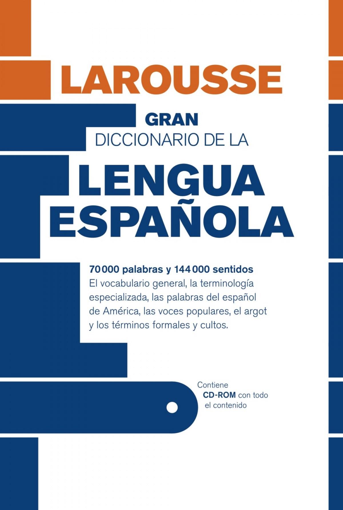 Gran Diccionario de la Lengua Española 9788415411253