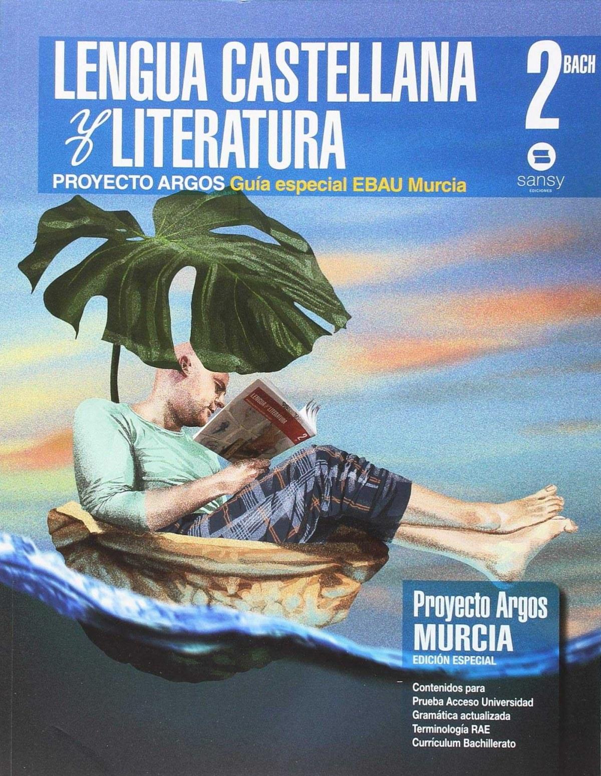 Lengua y literatura 2o.bachillerato Murcia 9788415721444