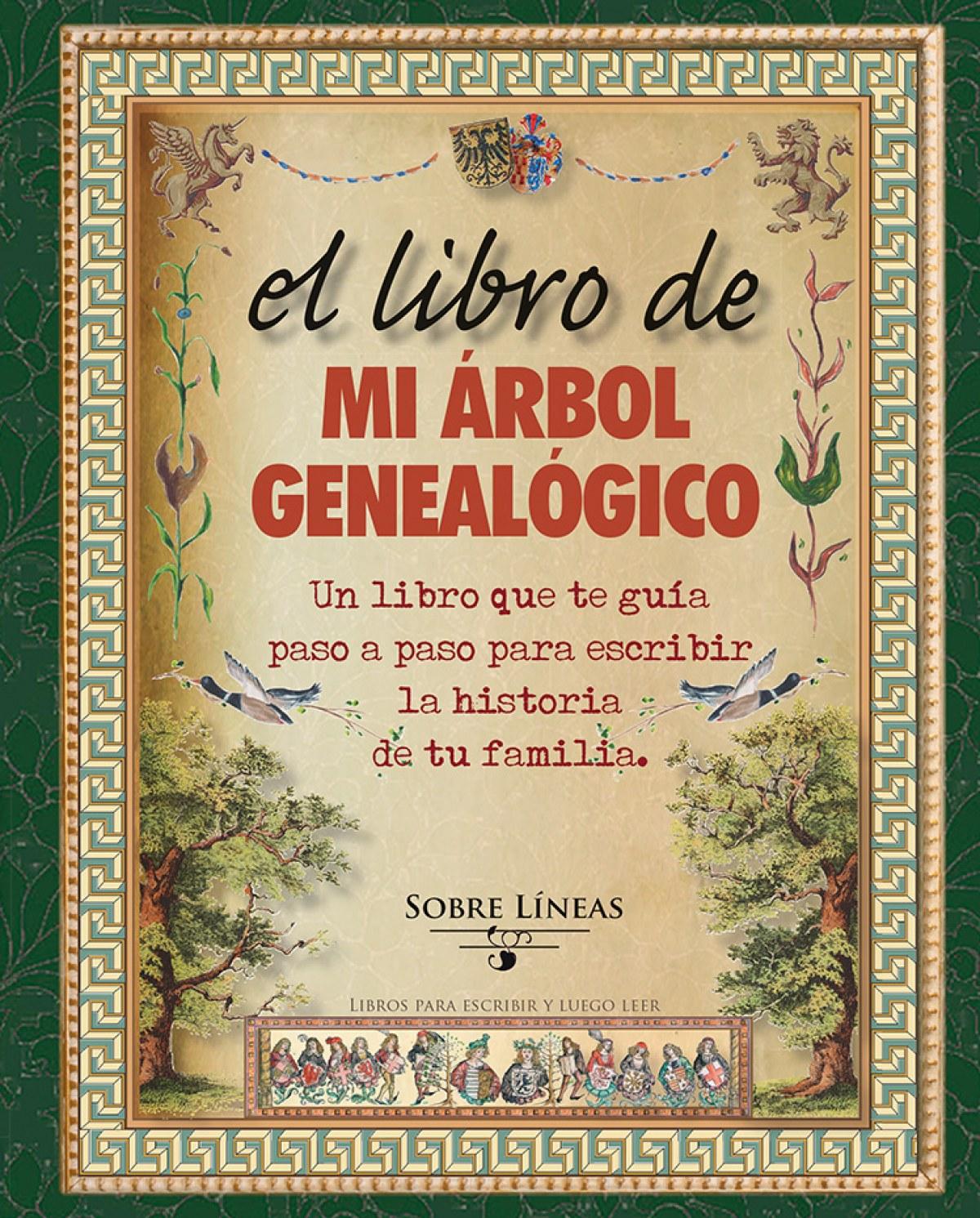 El libro de mi árbol genealógico 9788415968818