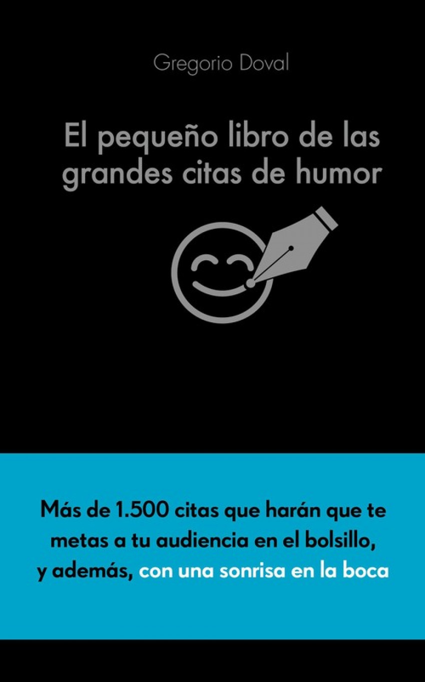 EL PEQUEñO LIBRO DE LAS GRANDES CITAS DE HUMOR 9788416253883