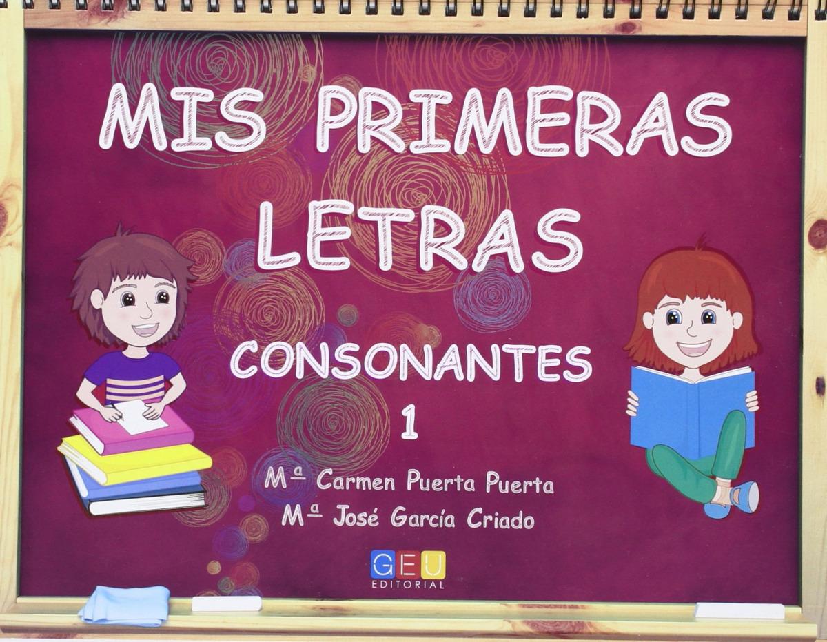 MIS PRIMERAS LETRAS CONSONANTES 1 9788416361243