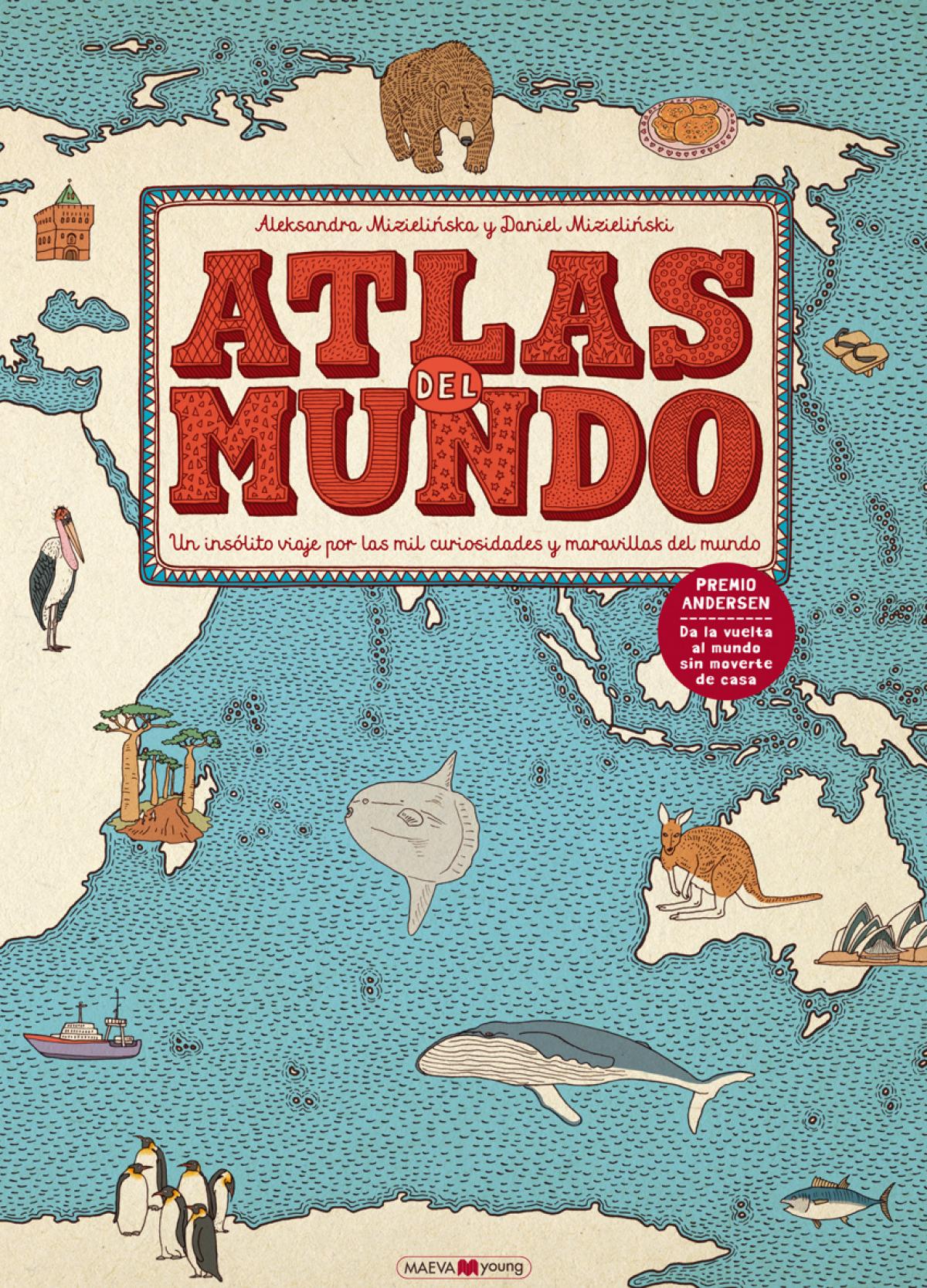 Atlas del mundo 9788416363469