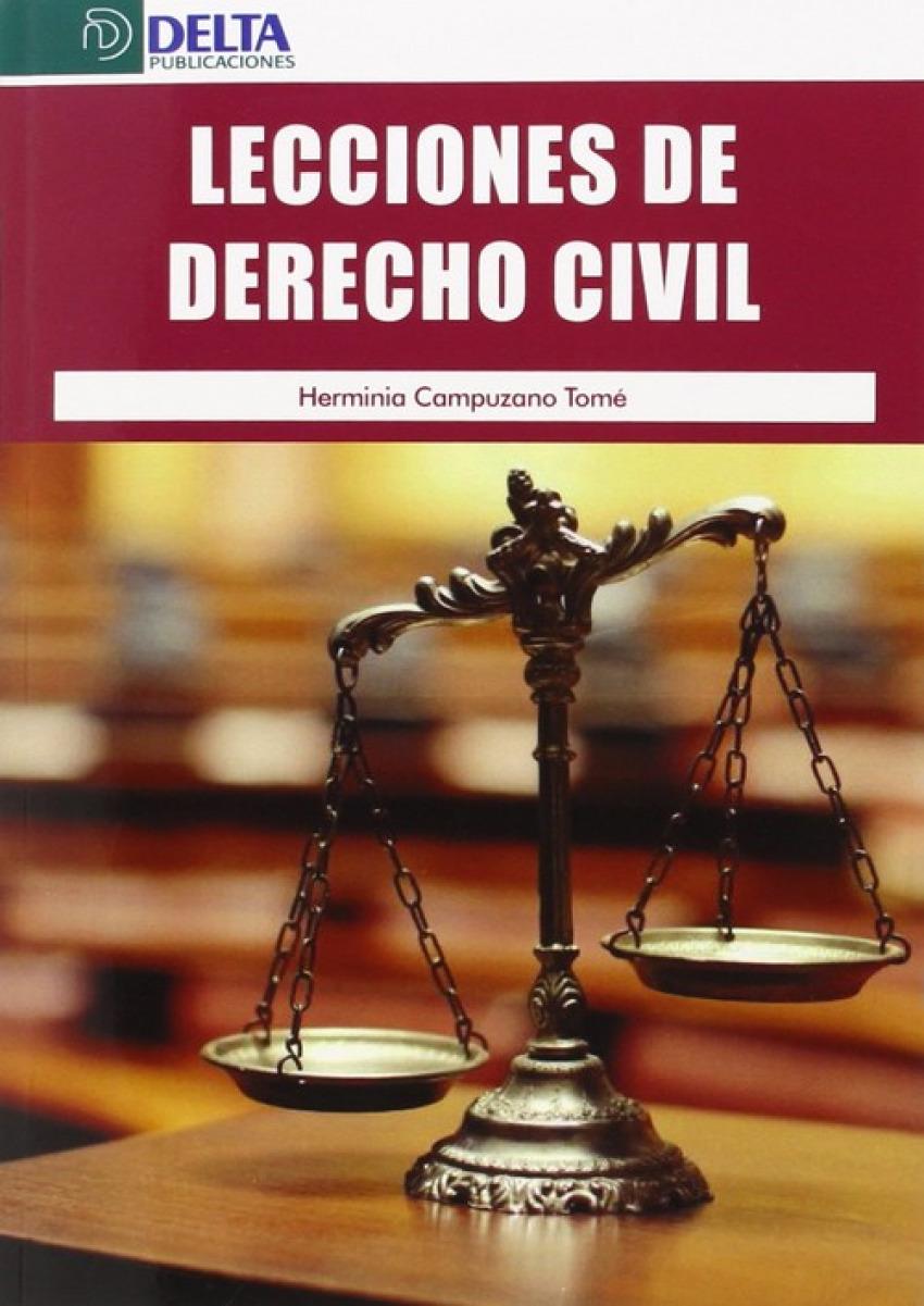 LECCIONES DE DERECHO CIVIL 9788416383016