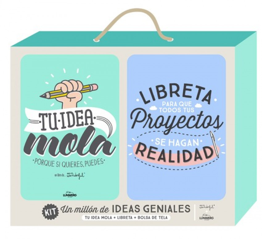 Kit un millón de ideas geniales 9788416489206
