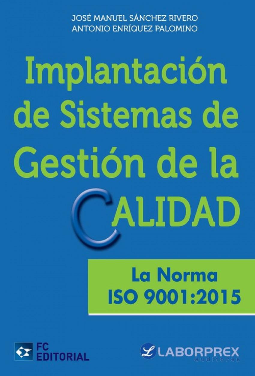 Implantación sistemas gestion calidad 9788416671113