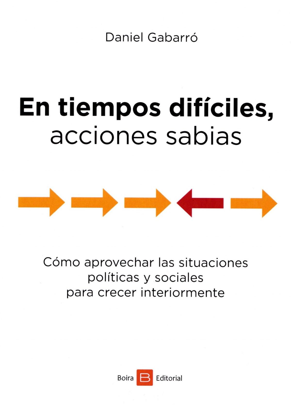 EN TIEMPOS DIFÍCILES, ACCIONES SABIAS 9788416680412