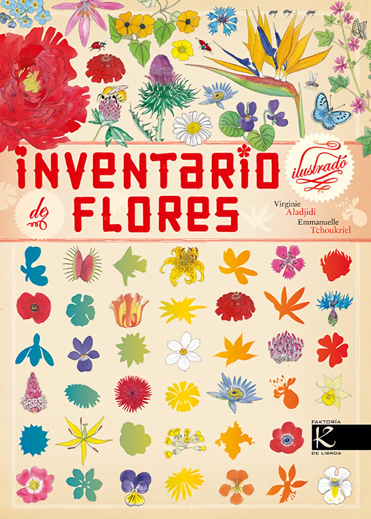 INVENTARIO ILUSTRADO DE FLORES 9788416721085