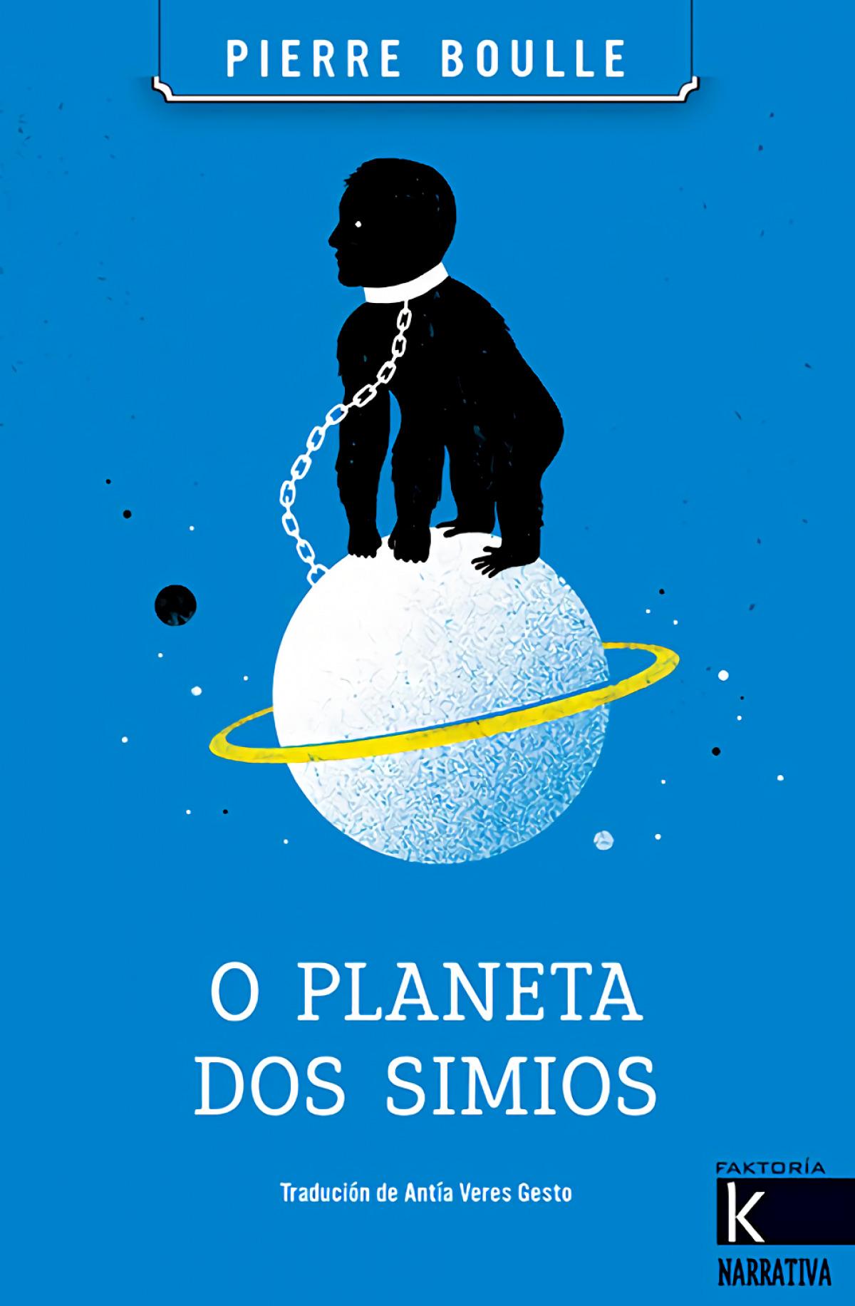 O PLANETA DOS SIMIOS 9788416721436