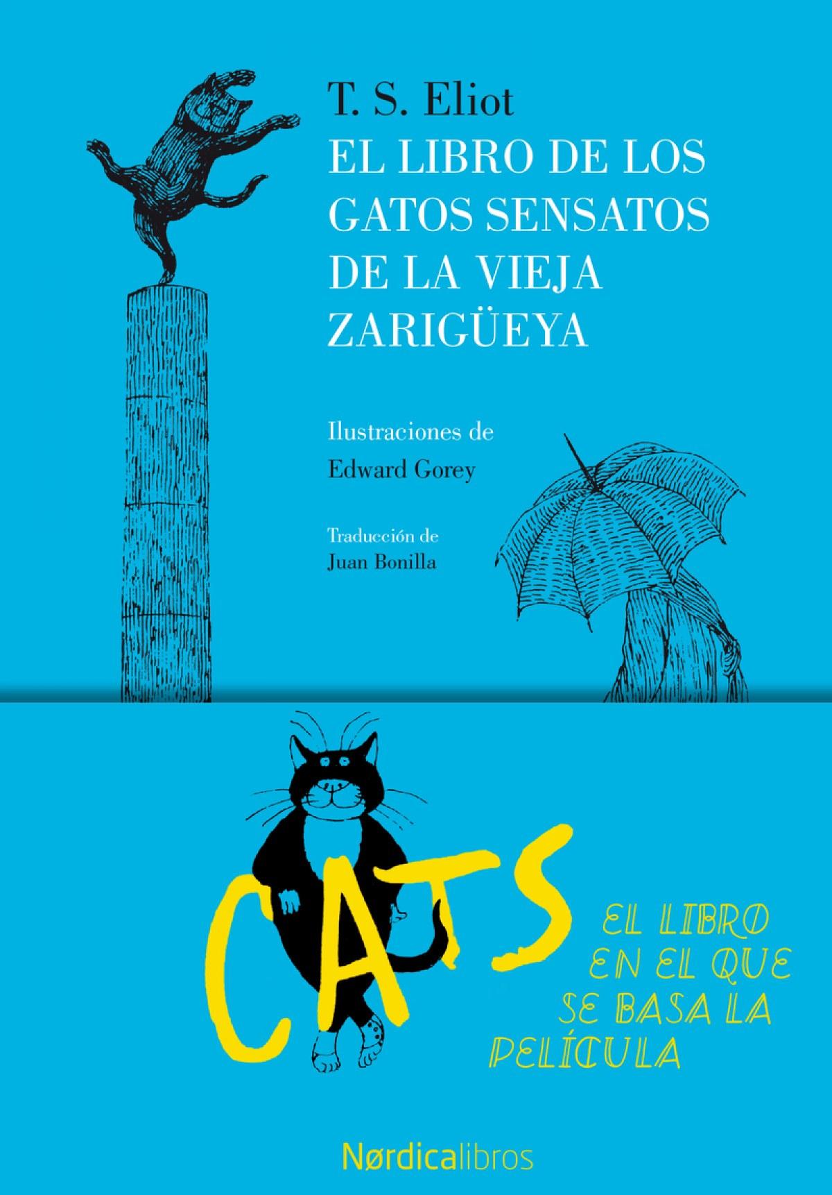 EL LIBRO DE LOS GATOS SENSATOS DE LA VIEJA ZARIGÜELLA 9788416830787
